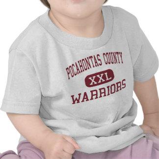 El condado de Pocahontas - guerreros - alto - Dunm Camisetas