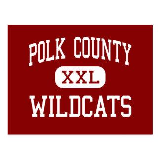 El condado de Polk - gatos monteses - alto - Tarjetas Postales