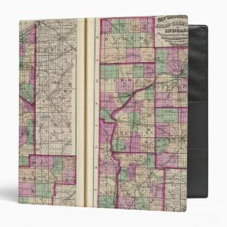 """El condado de Porter y el condado de Lake Carpeta 1 1/2"""""""