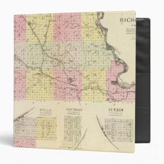 """El condado de Richardson, Nebraska Carpeta 1 1/2"""""""