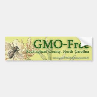 El condado de Rockingham GMO-Libre, pegatina para