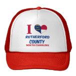 El condado de Rutherford, Carolina del Norte Gorros Bordados