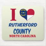 El condado de Rutherford, Carolina del Norte Alfombrilla De Raton