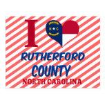 El condado de Rutherford, Carolina del Norte Tarjetas Postales
