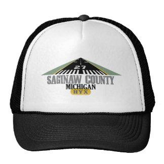 El condado de Saginaw - pista del aeropuerto Gorro De Camionero