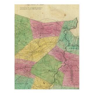 El condado de Schoharie Tarjeta Postal