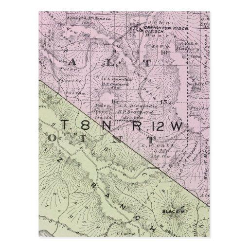 El condado de Sonoma, California 10 Postales