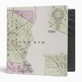 """El condado de Sonoma, California 20 Carpeta 1 1/2"""""""