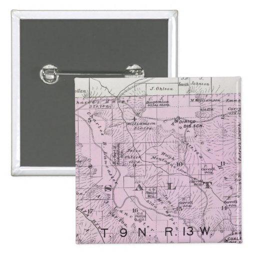El condado de Sonoma, California 20 Pin Cuadrado