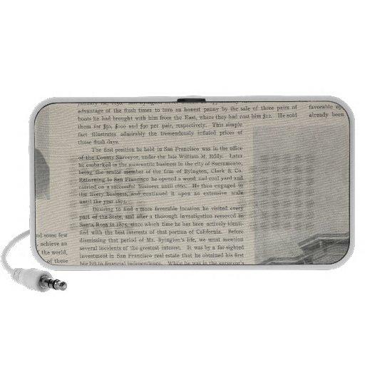 El condado de Sonoma, California 25 iPod Altavoces