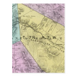 El condado de Sonoma, California 4 Tarjeta Postal