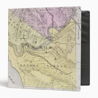 """El condado de Sonoma, California 8 Carpeta 1 1/2"""""""