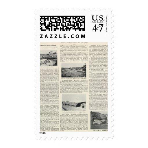 El condado de Sonoma, California Timbre Postal
