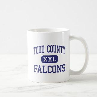 El condado de Todd - Falcons - alto - misión Taza