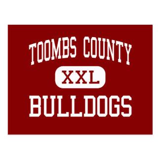 El condado de Toombs - dogos - alto - Lyon Georgia Tarjeta Postal