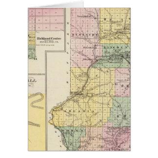 El condado de Trempealeau, Wisconsin Felicitacion