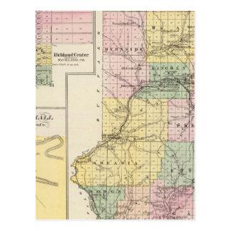 El condado de Trempealeau, Wisconsin Postal