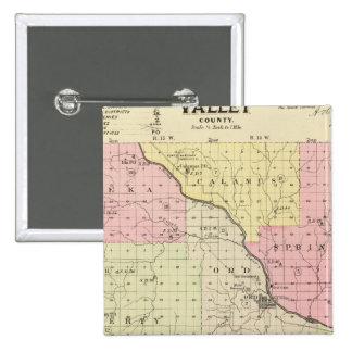 El condado de Valley, Nebraska Pin