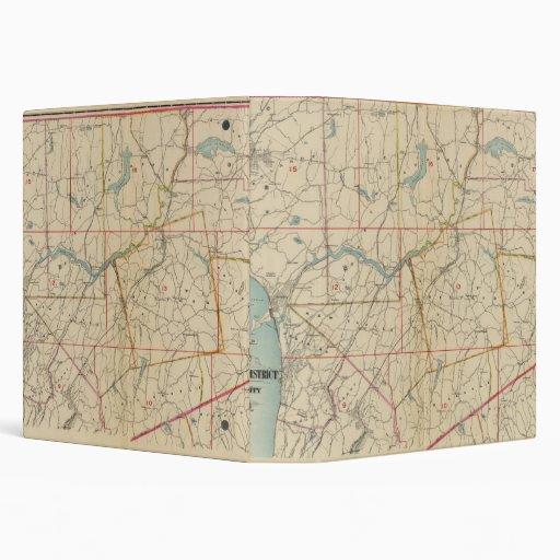 """El condado de Westchester, Nueva York 2 Carpeta 1 1/2"""""""