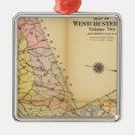 El condado de Westchester, Nueva York Ornamento De Navidad