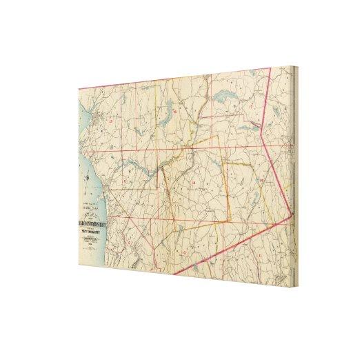 El condado de Westchester, Nueva York Impresión En Lona Estirada