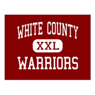 El condado de White - guerreros - centro - Sparta Postales