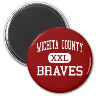 El condado de Wichita - Braves - joven - Leoti Kan Imanes