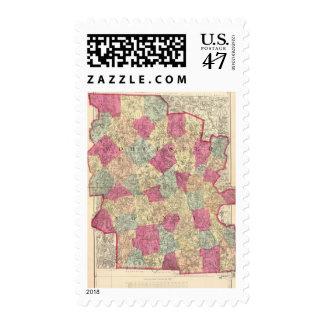 El condado de Worcester Timbre Postal