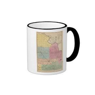 El condado de Yolo 3 Taza De Dos Colores