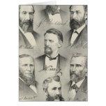 El condado de Yolo litografió los retratos Tarjeton