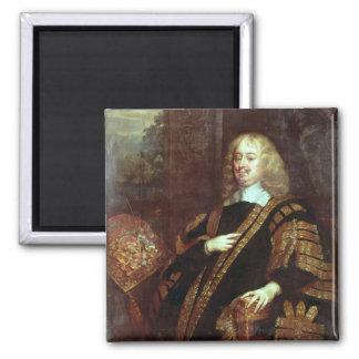 El conde de Clarendon, señor High Chancellor Imán Cuadrado