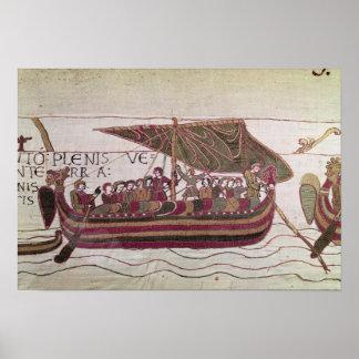 El conde Harold con el suyo navega por completo de Posters