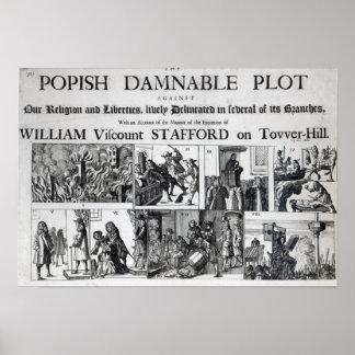 El condenable papal póster