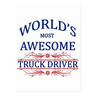 El conductor de camión más impresionante del mundo postales