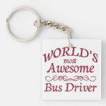 El conductor del autobús más impresionante del mun llavero