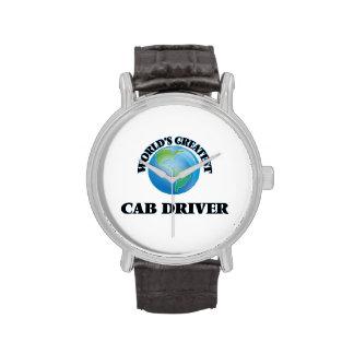 El conductor del taxi más grande del mundo reloj de mano