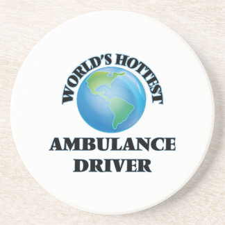 El conductor más caliente de la ambulancia del posavasos para bebidas