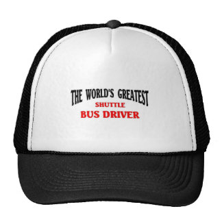 El conductor más grande del servicio de autobús de gorro