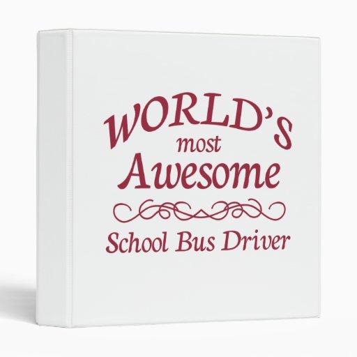 El conductor más impresionante del autobús escolar