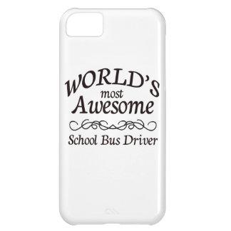 El conductor más impresionante del autobús escolar funda iPhone 5C
