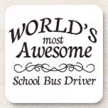 El conductor más impresionante del autobús escolar posavaso