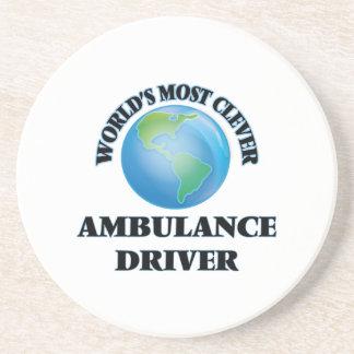 El conductor más listo de la ambulancia del mundo posavasos para bebidas
