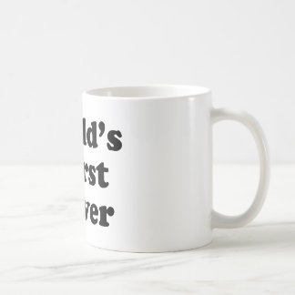 El conductor peor del mundo tazas de café
