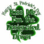 ¡El conductor señalado del día de St Patrick - bés Escultura Fotográfica