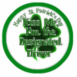 ¡El conductor señalado del día de St Patrick - bés Escultura Fotografica