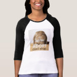 El conejito Adopt de Rambo no hace compras Camisetas