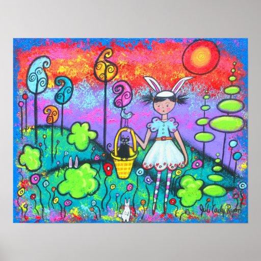 El Conejito-Chica llega con la impresión de la pri Poster