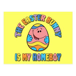 El conejito de pascua es mi Homeboy Postales