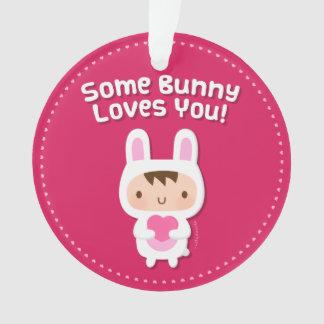 El conejito lindo le ama confesión del amor