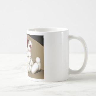 El conejito sangriento taza de café